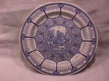 Spode, Blue Room Calendar Plate=2000