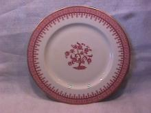 New York Haviland (Crimson Cambridge) Dinner Plate