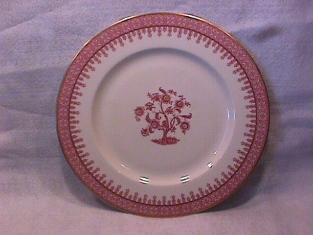 New York Haviland (Crimson Cambridge) Dinner Plate