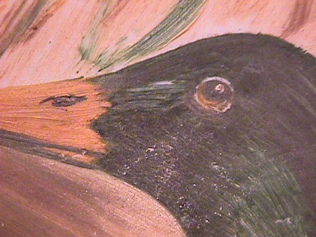Mallard & Hen, Hand-Painted Porcelain Plate