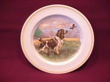 Woods Ivory Ware Fine China (Retriever) Dog Art Plate