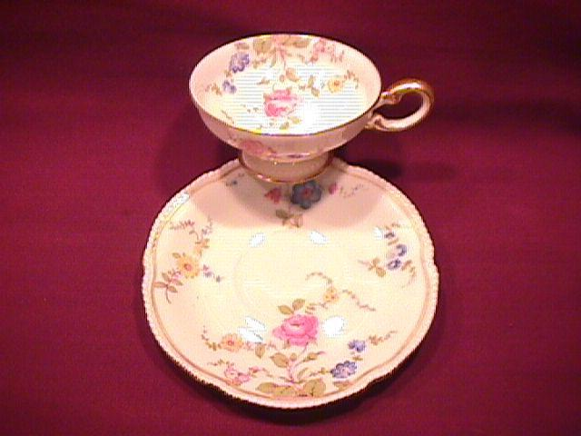 Castleton China (Sunnyvale) Demi-Cup & Saucer
