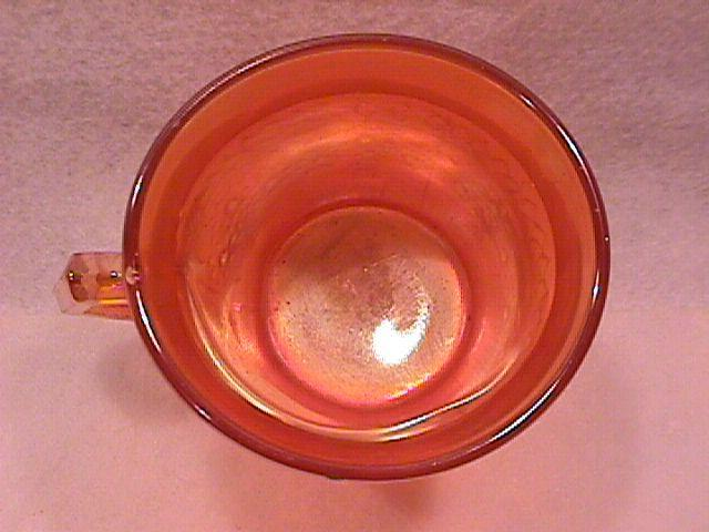 Fenton Carnival Glass (Orange Tree) Mug-Marigold