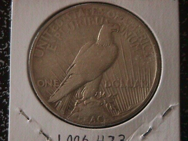 Peace Type Silver Dollar 1921 Extremely Fine