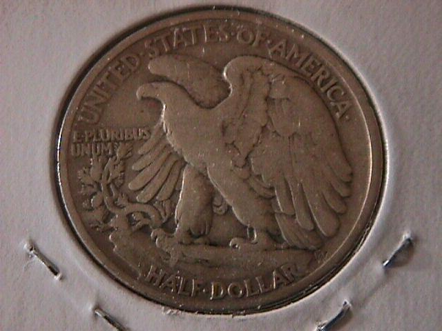 Liberty Walking Silver Half Dollar 1936  Fine Condition