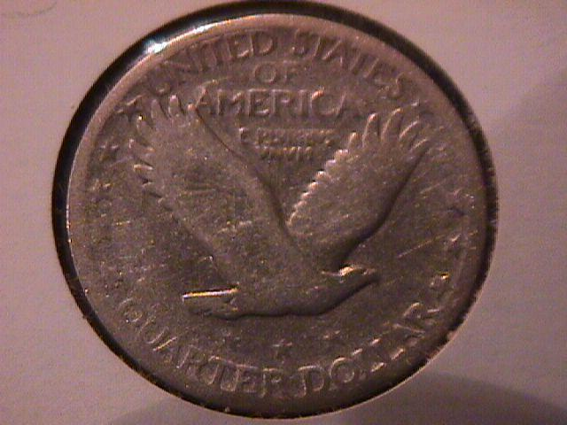 Standing Liberty Silver Quarter  1927-S  Fine Plus Condition