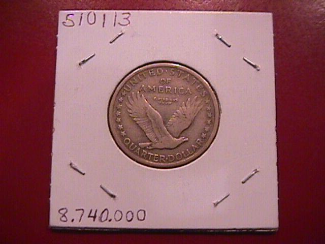 Standing Liberty Silver Quarter 1917 Variety #1  Extremely Fine Condition