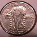 Standing Liberty Silver Quarter 1926  Extremely Fine Condition