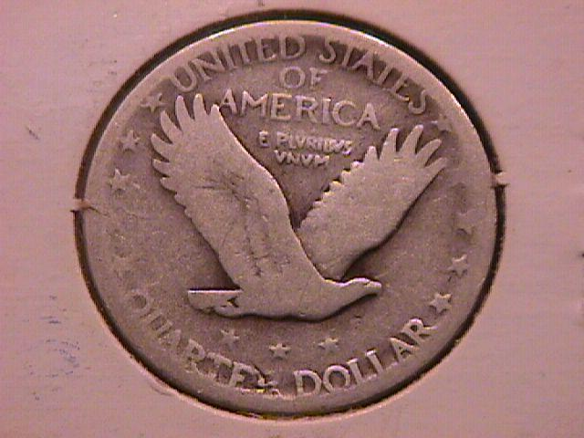 Standing Liberty Silver Quarter 1927-S  Very Good Condition