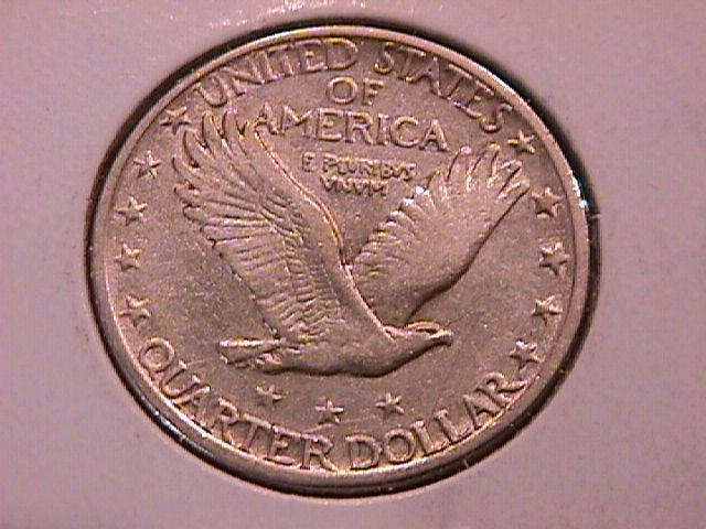 Standing Liberty Silver Quarter 1928-D Extremely  Fine Condition