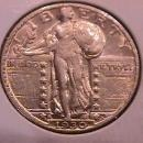 Standing Liberty Silver Quarter 1930-S Extremely Fine Plus Condition