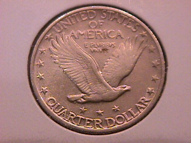Standing Liberty Silver Quarter 1927   Almost Uncirculated Condition