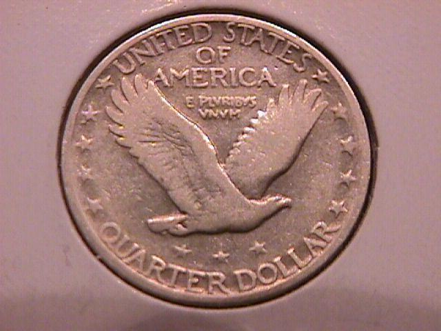 Standing Liberty Silver Quarter 1930-S  Very Fine Condition