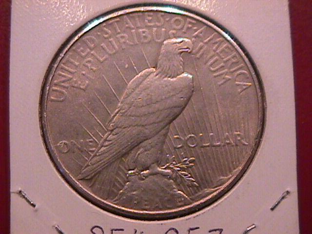 Peace Type Silver Dollar  1934  Almost Uncirculated Condition