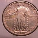 Standing Liberty Silver Quarter  1917-S Type#1  Very Fine Plus Plus Condition
