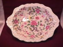 James Kent Ltd., Old Foley (Chinese Rose) Oval Vegetable