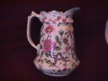 James Kent Ltd., Old Foley (Chinese Rose) Milk Pitcher