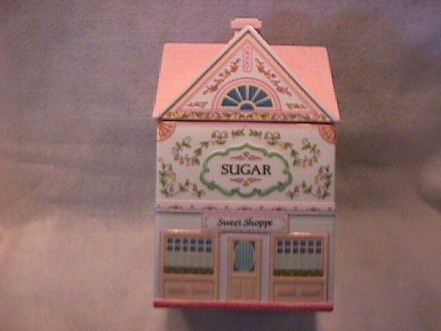 Lenox Fine Porcelain (The Lenox Village) Sugar Canister