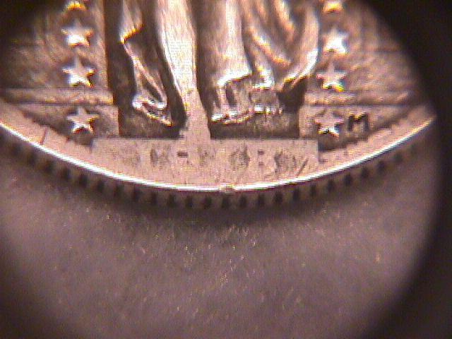 Standing Liberty Silver Quarter  1918-P   Very Fine Condition