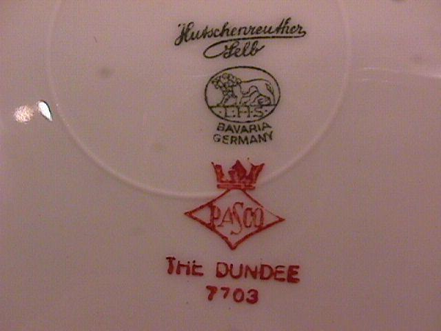 Hutschenreuther Fine China (The Dundee) Cup & Saucer