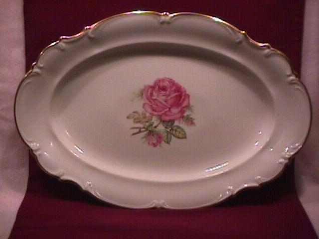 Hutschenreuther Fine China (The Dundee) Ham Platter