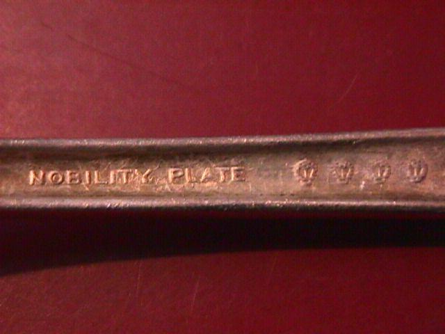 Oneida Nobility Silverplate (Caprice) 1937 Lunch Fork