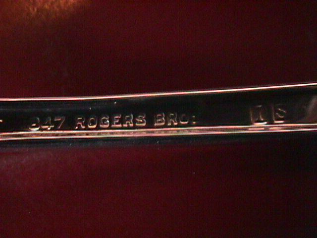 International 1847 Rogers Silverplate (Reflection) Sugar Shell