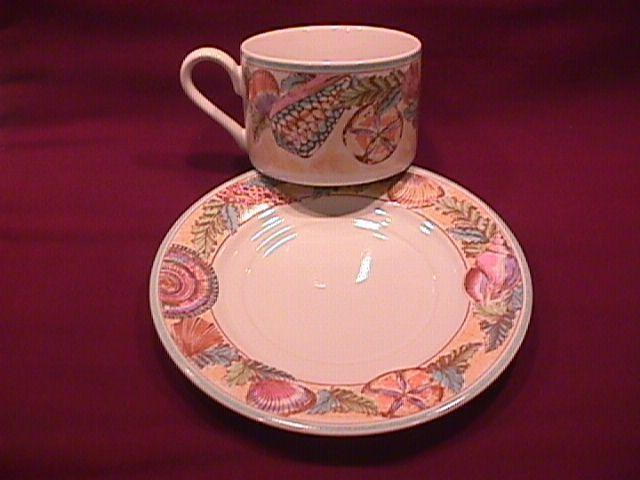 Fitz & Floyd Fine China (Caribbean) Cup & Saucer