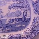 Spode Fine China (Blue Italian) C1816 W Ham Platter