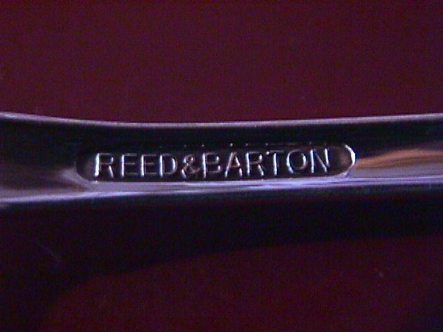 Reed & Barton Silverplate (Dresden Rose) Teaspoon