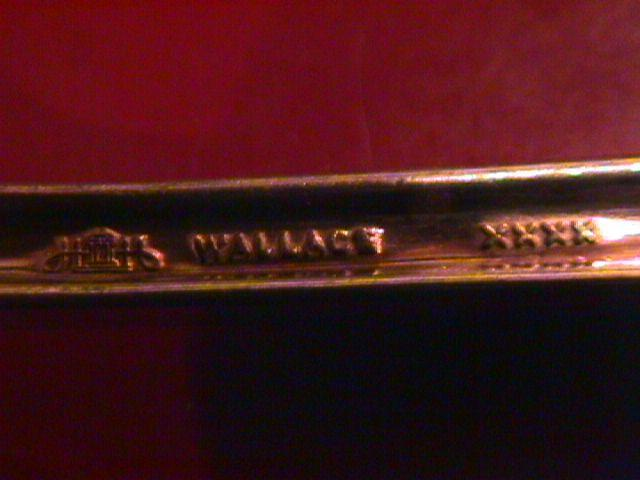 WAllace Silverplate 1947 (Sonata)-(Rare) Cold Meat Fork