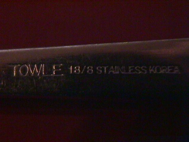 Towle 18-8 Stainless (Beacon Hill) Cold Meat Fork