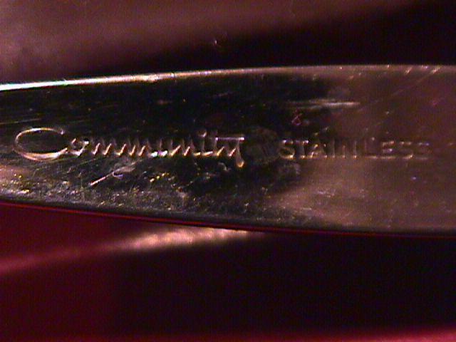 Oneida Community Stainless (Venetia) Master Butter Knife