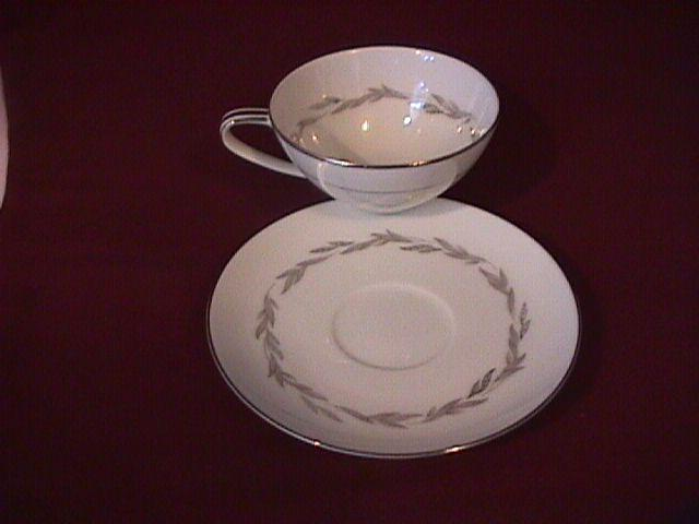 Noritake Fine China (Graywood) #6041  Cup & Saucer