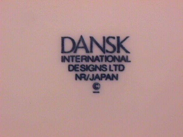 Dansk Fine China (Allegro) Dinner Plate