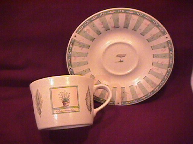 Pfaltzgraff (Naturewood) Cup & Saucer