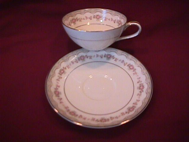 Noritake Fine China (Glenwood) #5770 Cup & Saucer