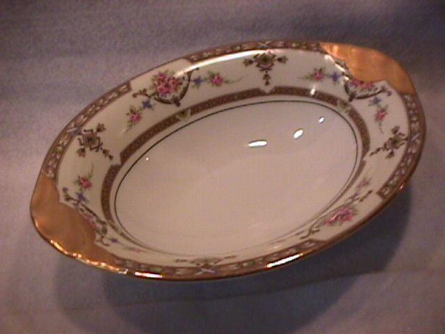 Union Ceramique-Limoges China (Lafayette) Oval Vegetable