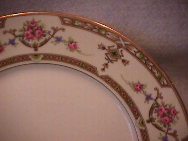 Union Ceramique-Limoges China (Lafayette) RARE- All-Purpose Round Serving Bowl