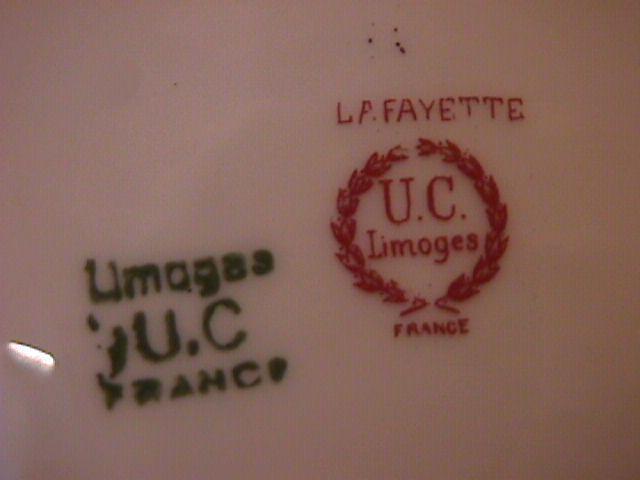 Union Ceramique-Limoges China (Lafayette) RARE- All-Purpose Round Serving Bowl