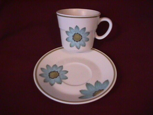 Noritake Progression China (Up-Sa Daisy) Cup & Saucer