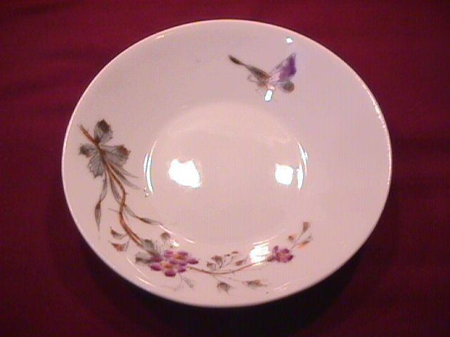 E. F. -BL Porcelaine (Butterfly Bush) Party Hostess Set=16 Pieces