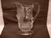 U. S. Glass Co. (Wading Heron) Pitcher-1915
