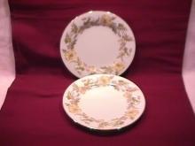Noritake Fine China (Wilshire) #5224 2-Cake Plates