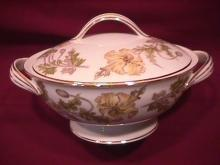 Noritake Fine China (Wilshire) #5224 Covered Sugar