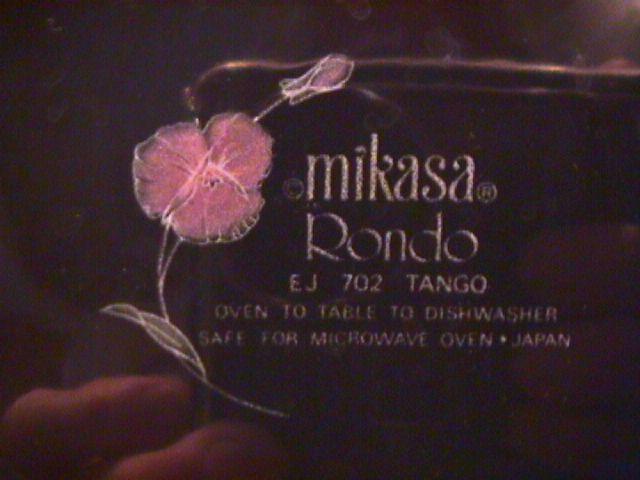 Mikasa China (Tango) EJ-702 Cup & Saucer