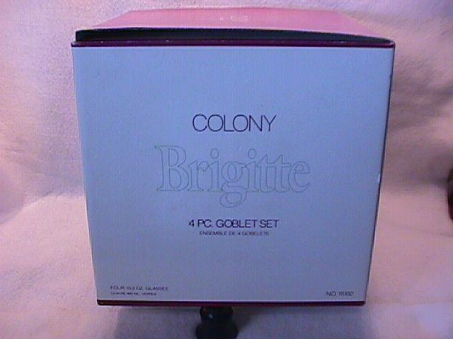 Colony Crystal (Brigitte) 3-Goblets