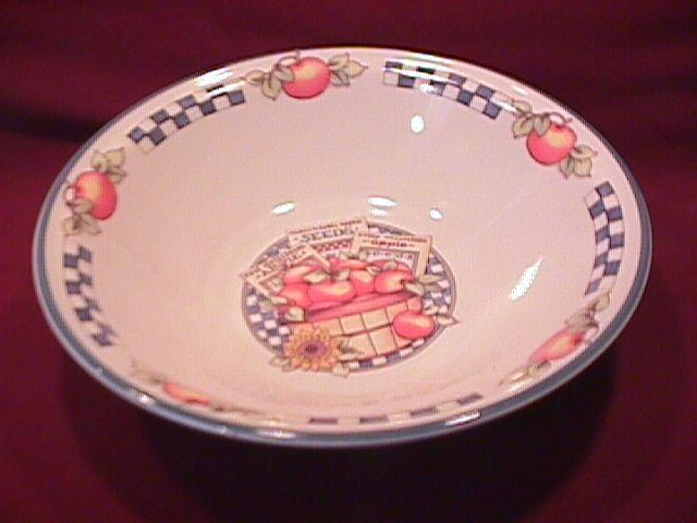 International Tableworks China (Appletime) Soup Bowl