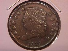 Half Cent Copper Coin Classic Head 1829 Very Fine To Extremely Fine Condition