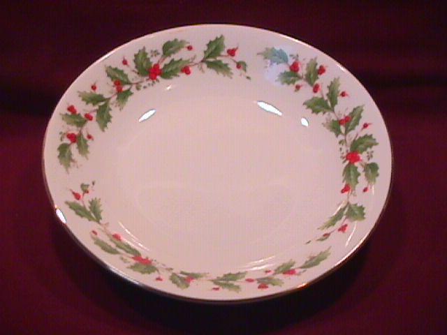 China Pearl Fine China (Noel) Soup Bowl